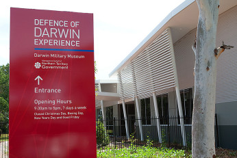 Defence of Darwin Visitor Experience